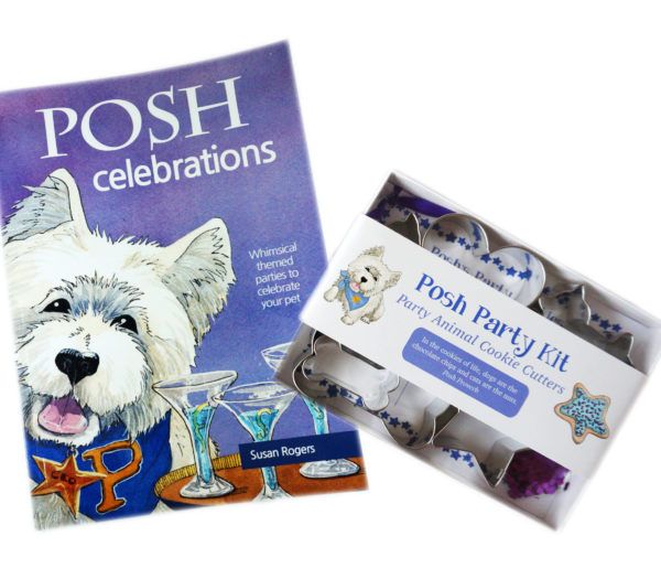 Posh Party Guidebooks, Cookie Cutter Party Kits & Cookie Taster Bandanas
